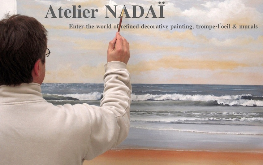 Atelier Nadai - Mural paintings and trompe-l&#39;oeil