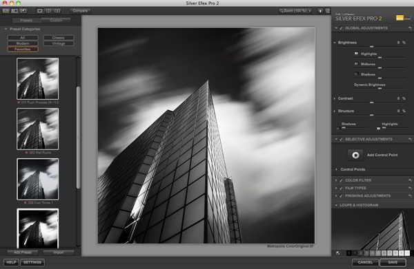 Nik Software Silver Efex Pro 2