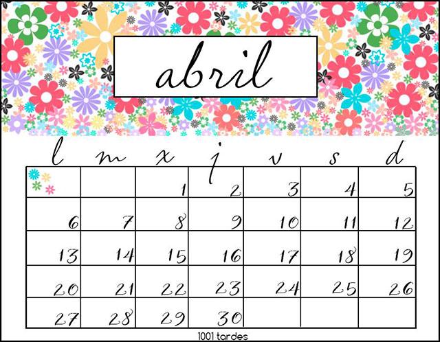 http://1001tardes.blogspot.com/2015/03/calendario-abril-2015.html