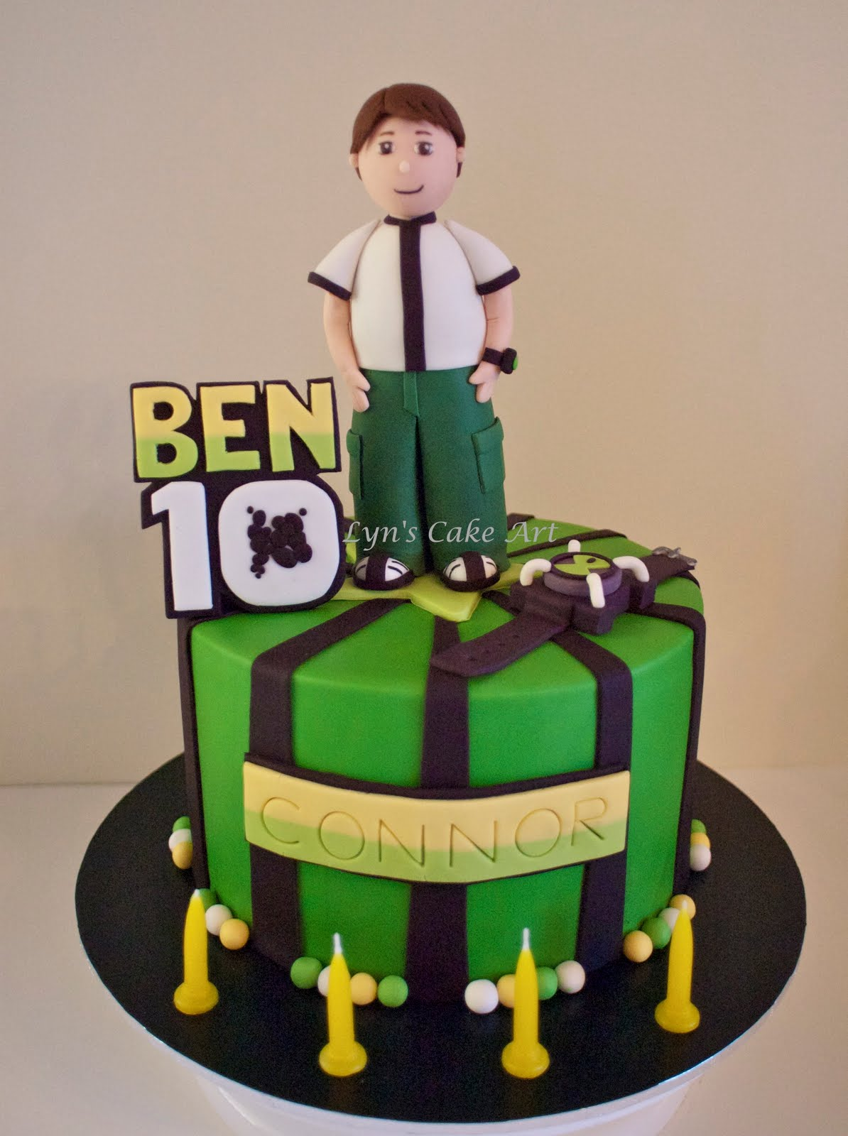 Cake Art Supplies Castle Hill : Lyn s Cake Art: Ben 10