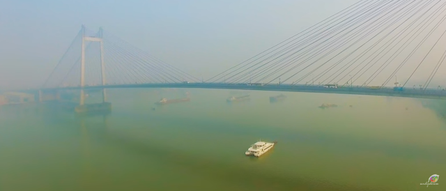 There is  more to Kolkata than cliches. Professional photograpger Sandip De flies a drone to capture  the city - the way it looks in the fog on winter mornings from above.