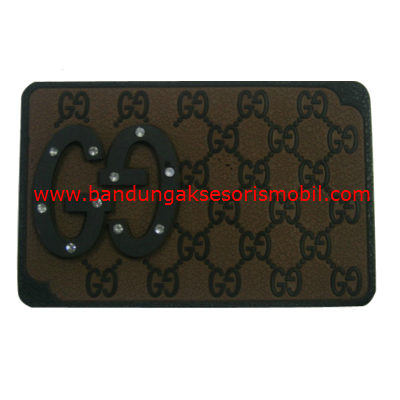 Dash Mat Gucci Berlian Coklat - Hitam Japan