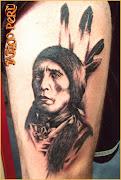 fotos de tatuajes - los mejores tatuadores estan en warriors peru: tatuajes . tatuaje de un indio