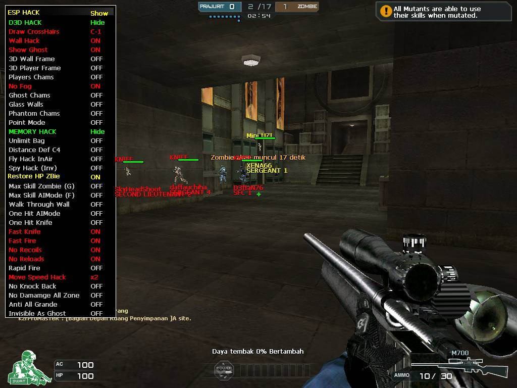 cheat terbaru crossfire bulan juni 2013 free hack crossfire june 2013