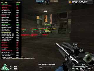 Update Baru 09 Jan 2014 FullCet Crossfire Walhak, Chams, Full Esp, Auto Headshot, Aimbot, Visible Check, Lompat tinggi, Speed Super, One Hit,Dll Work All Windows
