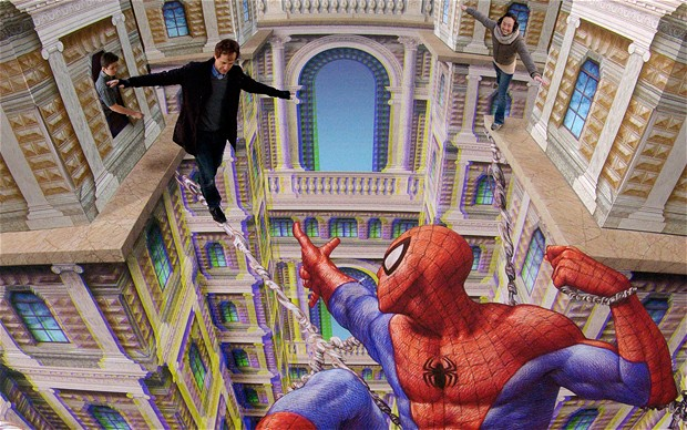 Spiderman Optical Illusions Pictures