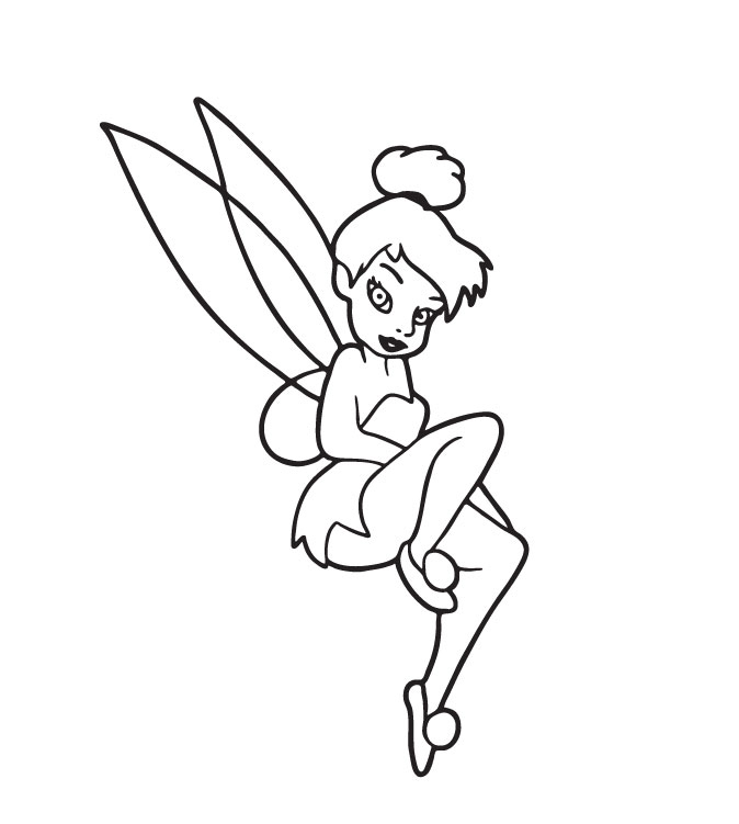 Tinkerbell Coloring Pages Best Gift Ideas Blog