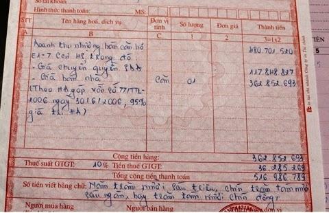 ghi hóa đơn thế nào đúng cách