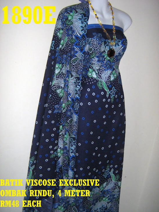 BV 1890E: BATIK VISCOSE EXCLUSIVE OMBAK RINDU, 4 METER