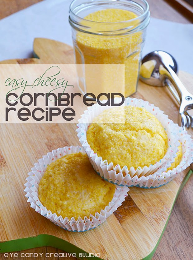 cornbread recipe, cornbread muffins, how to make cornbread, cheesy cornbread