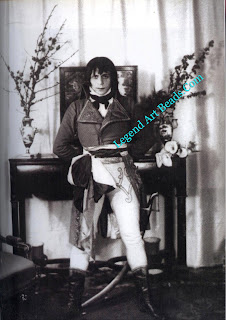 Verdura in the Napoleon costume he wore for the '1799' ball he gave in honor of the famous lovers, Lord Nelson and Lady Hamilton, at the Palazzo Verdura in 1929.