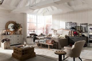 Decoración habitación vintage
