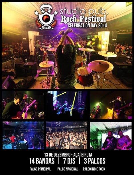 13-12-2014 - ROCK FESTIVAL CELEBRATION DAY 2014 - Belém - PA