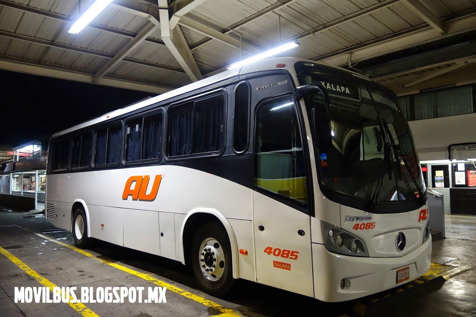 MOVILBUS: MERCEDES BENZ MARCOPOLO ALLIADO 770 AUTOBUSES UNIDOS.