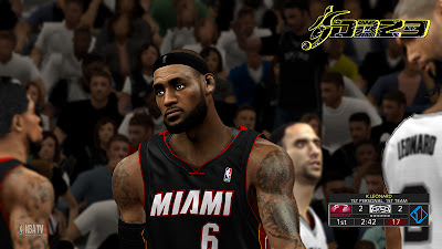 NBA 2K13 NBA TV HD Watermark NBA2K Mods