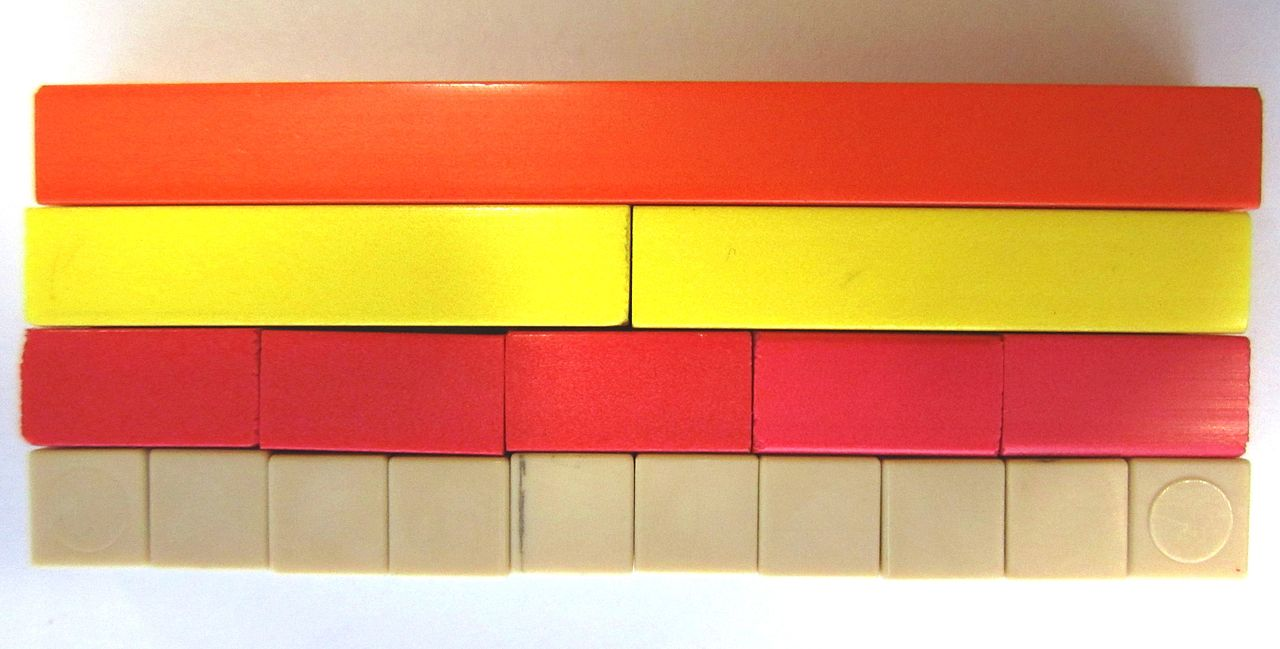 Madeleine Goutard And Cuisenaire Rods