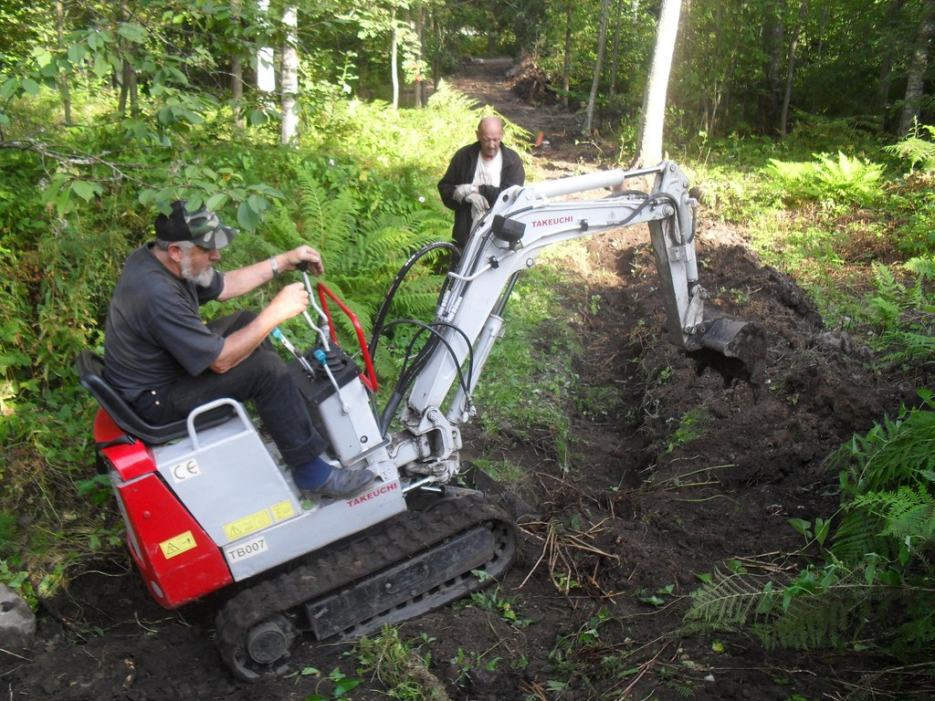 gräva ner elkabel