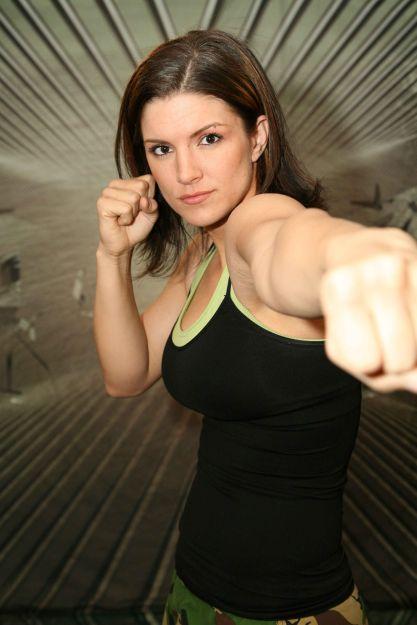 gina carano fight - photo #37