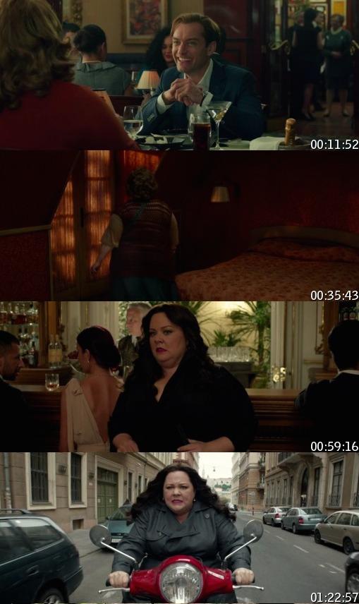 Spy 2015 BluRay 720p 800mb