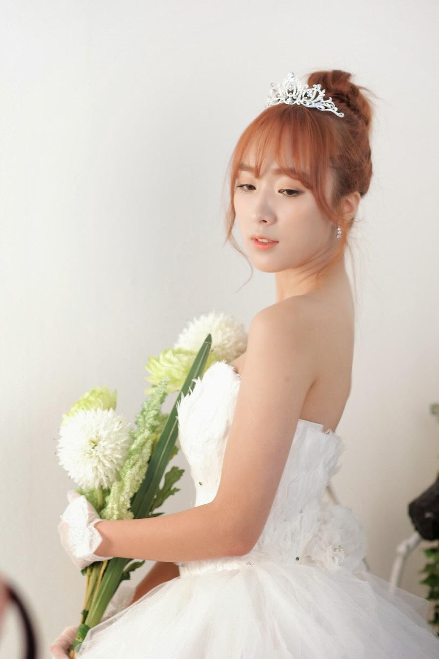 Minah Model Gorgeous Bride