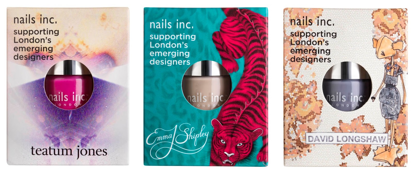 Nails Inc Emerging British Designer Collaboration