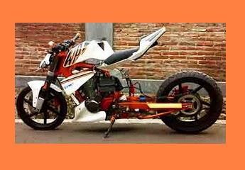 KUMPULAN GAMBAR MODIFIKASI MOTOR HONDA TIGER STREET FHIGTER NEW 2000 8