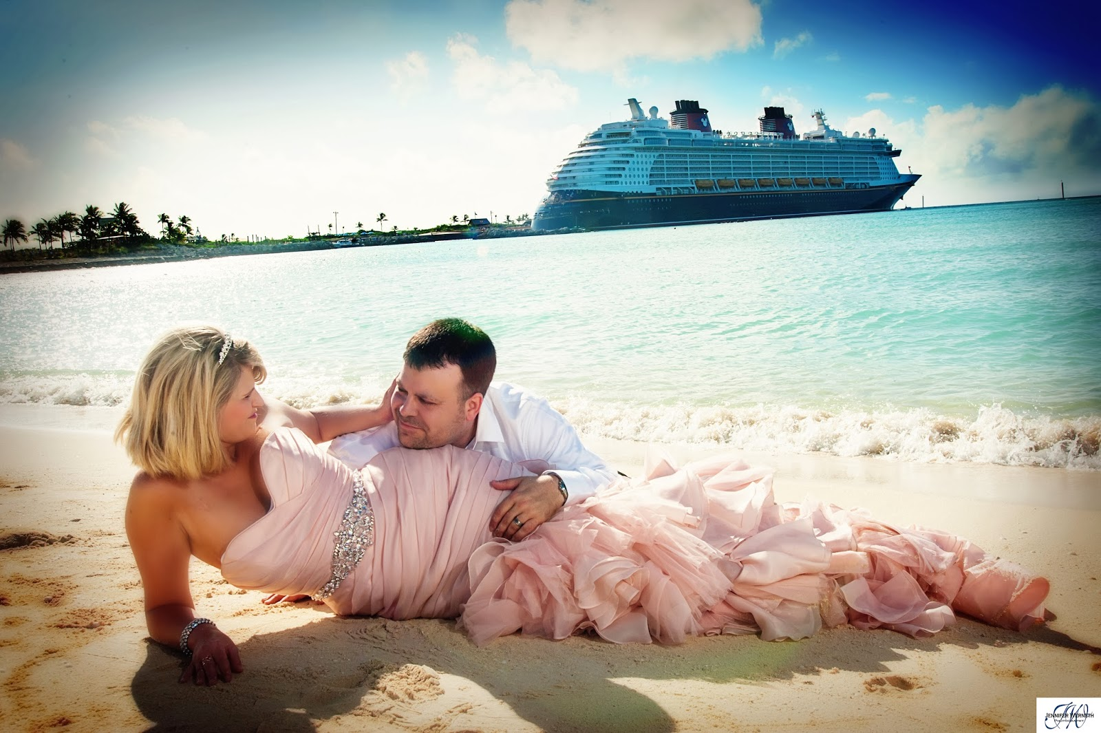 83 Disney Cruise Wedding