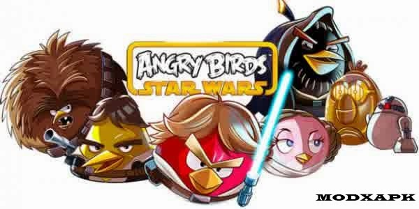 Angry Birds Star Wars II Mod Apk 1.5.0 (Unlimited Everything)