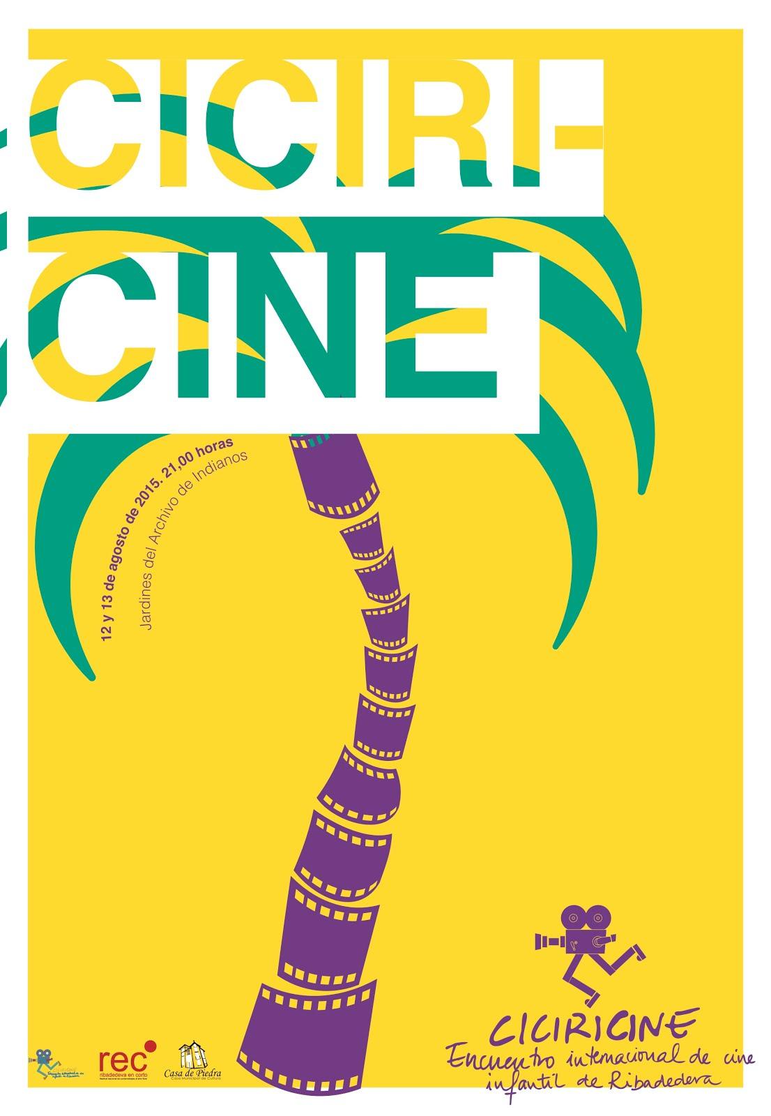 Cartel CICIRICINE 2015