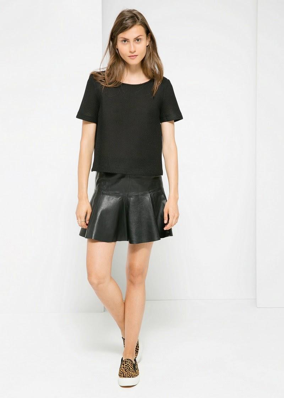deri etek pantolon 2015 moda bilgilerburada  2015 Deri Etek Modelleri,mini deri etek kombinler,2015 deri modası bayan