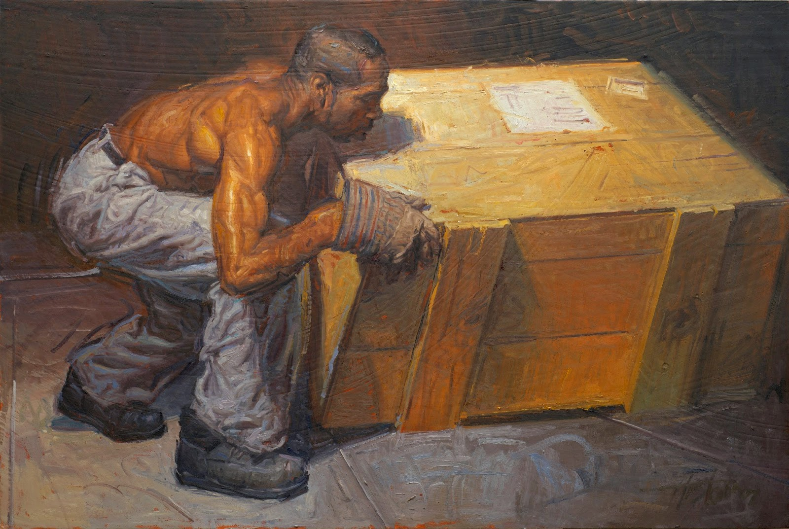 kai fine art steve huston