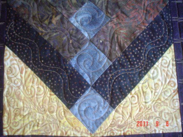 Myquilter Batik French Braid Quilt