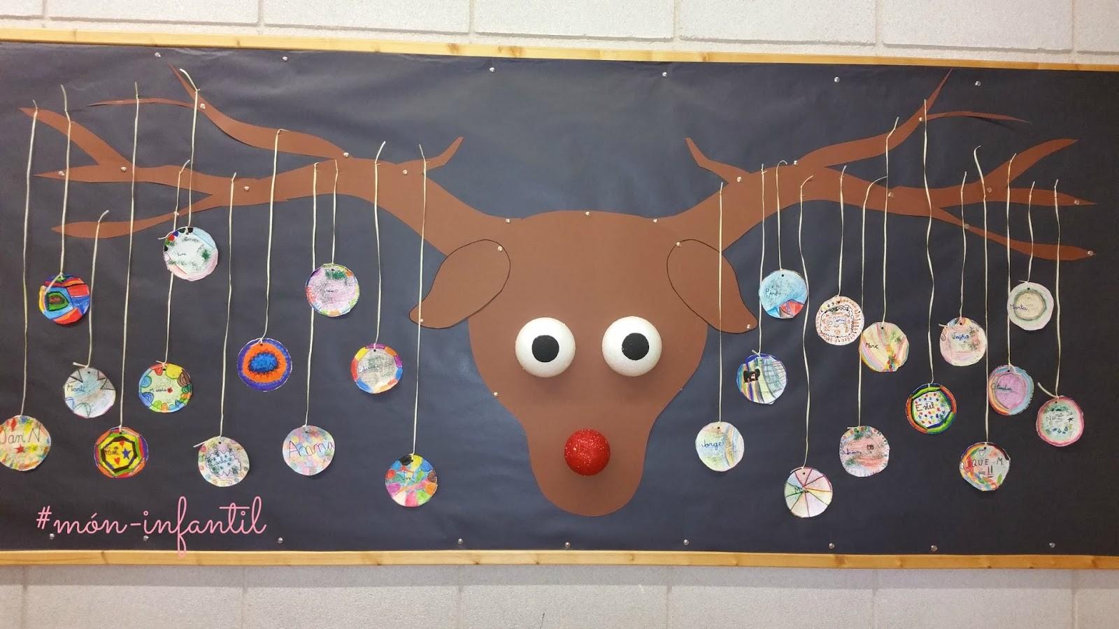 M n infantil y ciclo inicial manualidades de navidad for Mural navideno