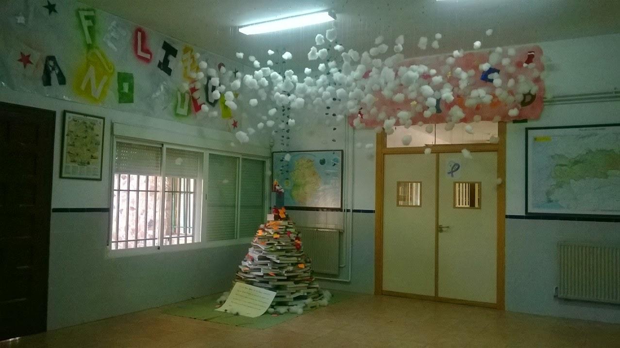 Decoración navideña del IES Muñoz-Torrero. Curso 2013/14