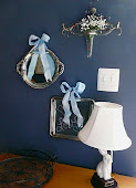 A Chalkboard & A Mirror from Silver Trays