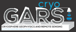 CRYOSPHERE GEOPHYSICS AND REMOTE SENSING