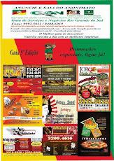 lançamento guia de negocios julho 2014 10 mil encartes porto alegre