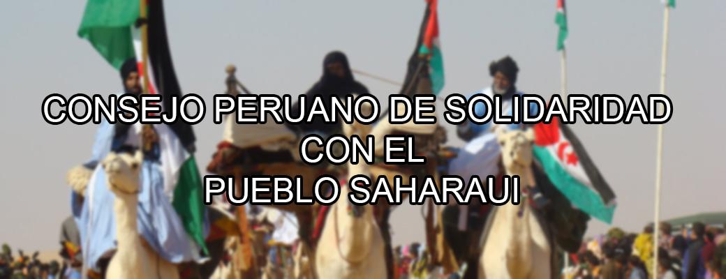 CONSEJO PERUANO DE SOLIDARIDAD CON EL PUEBLO SAHARAUI