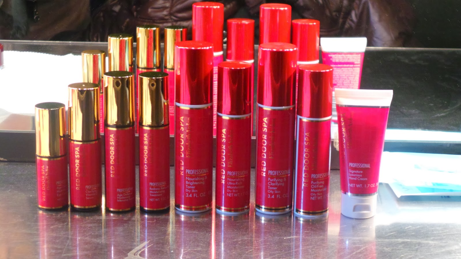 Ev Curl Gurl Nyfw Backstage Beauty With Red Door Spa