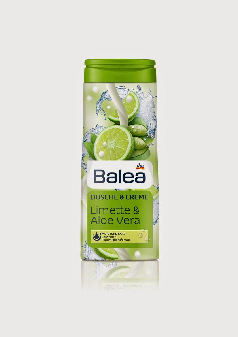 Balea Dusche & Creme Limette und Aloe Vera - www.annitschkasblog.de
