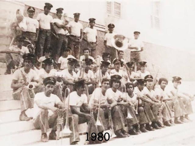 Banda Marcial Mariano de Assis de 1980