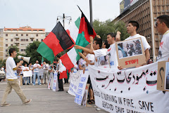 Demonstration in Milan against Kochi attacks on Behsood