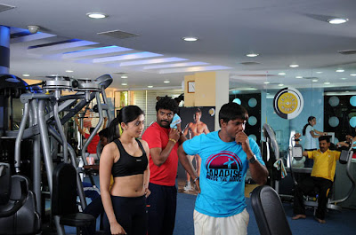 Pranitha hot stills gym pics Photoshoot images