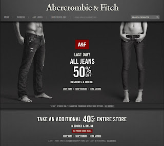 Abercrombie and fitch online coupons codes