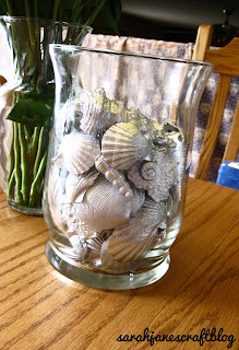 Spray Painted Sea Shells