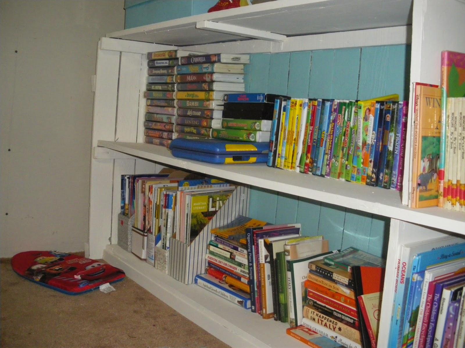 Reduce, Reuse, Renewed: Fence Pieces to Bookshelf