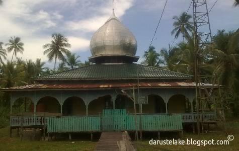 Masjid di Telake, Kabupaten Paser, Kaltim