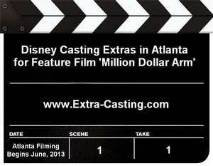 Disney Casting Extras Million Dollar Arm