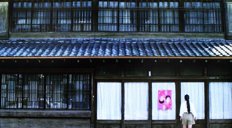 ユウの実家(正面) 川越 映画「東京上空いらっしゃいませ」の風景