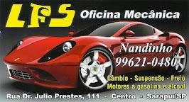 LFS OFICINA MECÂNICA Câmbio, Suspensão, Freios Motores a gasolina e Álcool